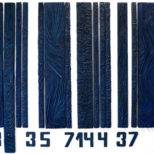 Codice personale 120x180 cm